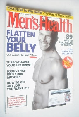 <!--1999-07-->British Men's Health magazine - July/August 1999