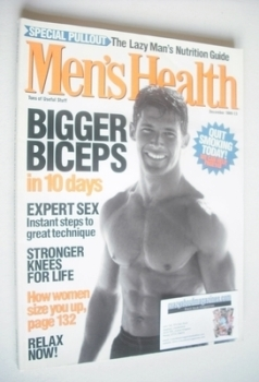 British Men's Health magazine - December 1999