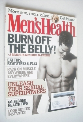 <!--2003-05-->British Men's Health magazine - May 2003