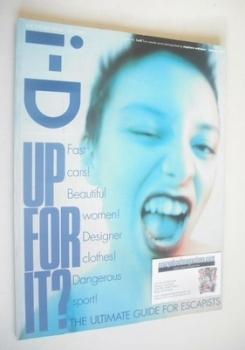 i-D magazine - Kelli Ali cover (January 1997 - Issue 160)
