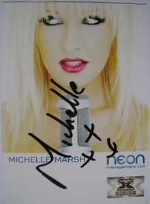 Michelle Marsh autograph