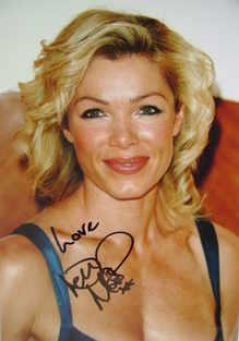 Nell McAndrew autograph