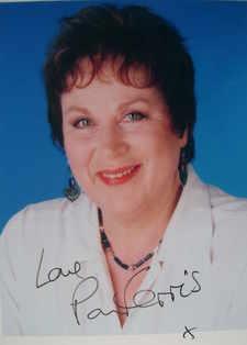 Pam Ferris autograph