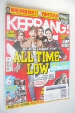 <!--2014-03-13-->Kerrang magazine - All Time Low cover (13 March 2014 - Iss