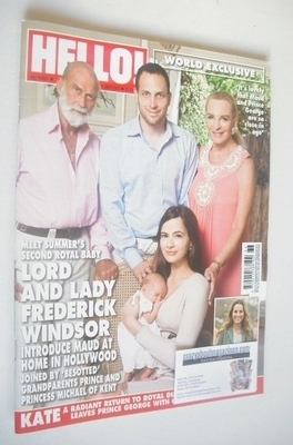 <!--2013-09-09-->Hello! magazine - Lord and Lady Frederick Windsor cover (9