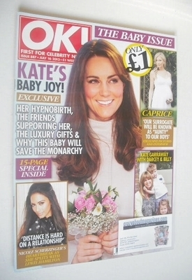 <!--2013-07-16-->OK! magazine - Kate Middleton cover (16 July 2013 - Issue