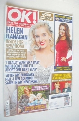 <!--2013-08-20-->OK! magazine - Helen Flanagan cover (20 August 2013 - Issu