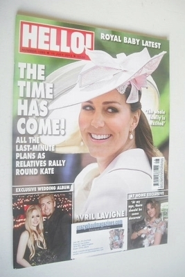 <!--2013-07-15-->Hello! magazine - Kate Middleton cover (15 July 2013 - Iss