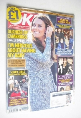 <!--2013-03-05-->OK! magazine - Kate Middleton cover (5 March 2013 - Issue