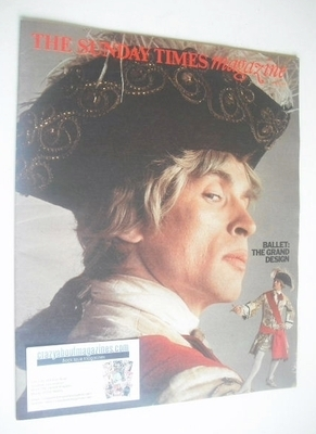 <!--1975-06-29-->The Sunday Times magazine - Rudolf Nureyev cover (29 June