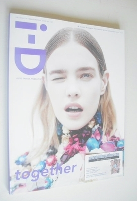 <!--2013-09-->i-D magazine - Natalia Vodianova cover (Fall 2013 - Issue 327