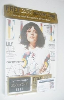 <!--2014-03-->British Elle magazine - March 2014 - Lily Allen cover