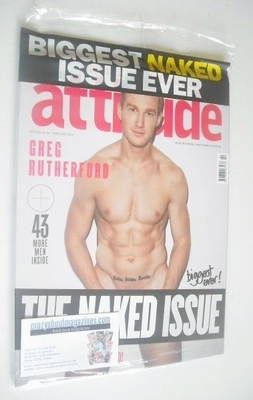 <!--2014-03-->Attitude magazine - Greg Rutherford cover (March 2014)