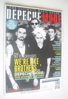 <!--2013-09-->Ultimate Music Guide magazine - Depeche Mode cover (Issue 7 -