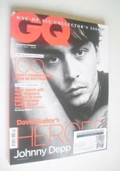 British GQ magazine - March 2014 - Johnny Depp cover
