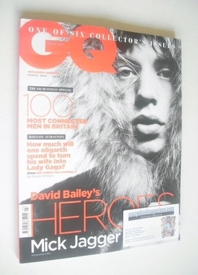 <!--2014-03-->British GQ magazine - March 2014 - Mick Jagger cover