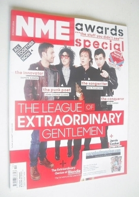 <!--2014-03-08-->NME magazine - Awards Special cover (8 March 2014)