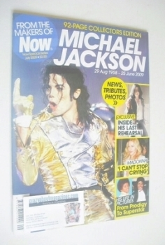 Now magazine - Michael Jackson cover (30 June 2009-28 July 2009)