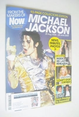 <!--2009-06-30-->Now magazine - Michael Jackson cover (30 June 2009-28 July