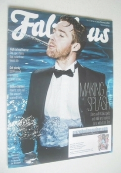 Fabulous magazine - Ricky Wilson cover (23 February 2014)