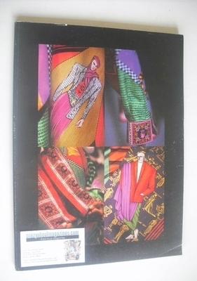 Versace Catalogue - Collezione Uomo Primavera Estate 1991