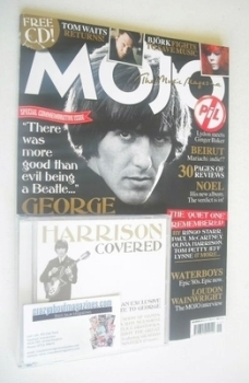 MOJO magazine - George Harrison cover (November 2011 - Issue 216)