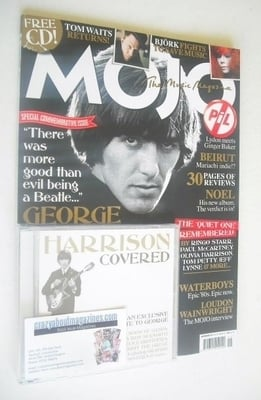 <!--2011-11-->MOJO magazine - George Harrison cover (November 2011 - Issue