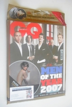 British GQ magazine - October 2007 - Men Of The Year Awards cover