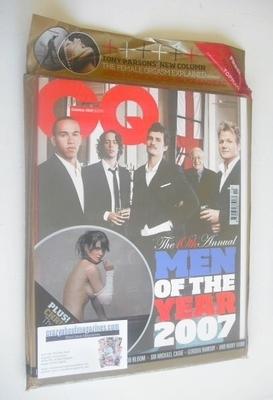 <!--2007-10-->British GQ magazine - October 2007 - Men Of The Year Awards c