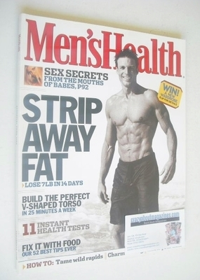 <!--2003-09-->British Men's Health magazine - September 2003