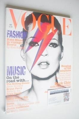 <!--2003-05-->British Vogue magazine - May 2003 - Kate Moss cover