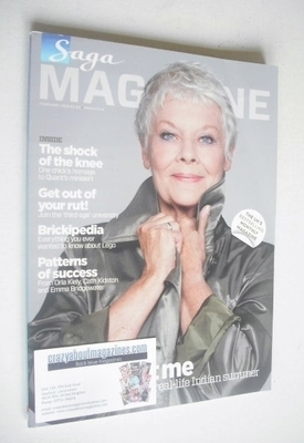 <!--2012-02-->SAGA magazine - February 2012 - Judi Dench cover