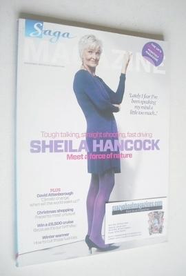<!--2011-11-->SAGA magazine - November 2011 - Sheila Hancock cover