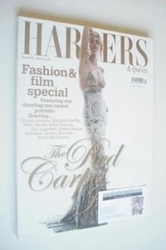 British Harpers & Queen magazine - March 2005 - Sophie Dahl cover