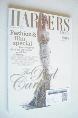 <!--2005-03-->British Harpers & Queen magazine - March 2005 - Sophie Dahl c