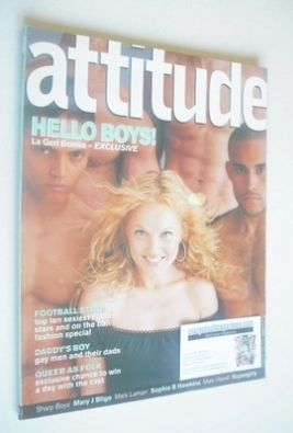 <!--1999-08-->Attitude magazine - Geri Halliwell cover (August 1999 - Issue