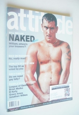 <!--2001-03-->Attitude magazine - Will Mellor cover (March 2001)