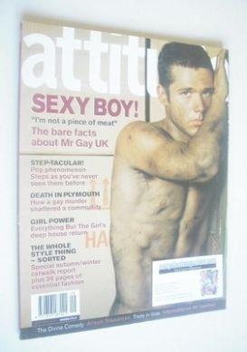<!--1999-09-->Attitude magazine - Mark Ledsham cover (September 1999 - Issu