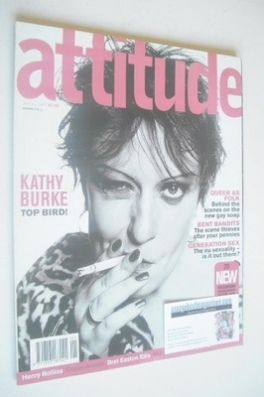 <!--1999-01-->Attitude magazine - Kathy Burke cover (January 1999 - Issue 5