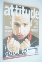 <!--1997-12-->Attitude magazine - Andrew Lincoln cover (December 1997 - Issue 44)
