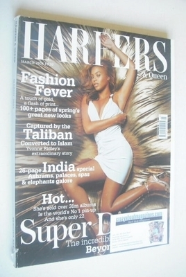 <!--2004-03-->British Harpers & Queen magazine - March 2004 - Beyonce Knowl