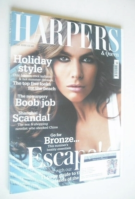 <!--2005-07-->British Harpers & Queen magazine - July 2005