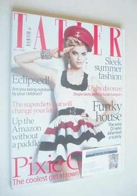 <!--2008-07-->Tatler magazine - July 2008 - Pixie Geldof cover