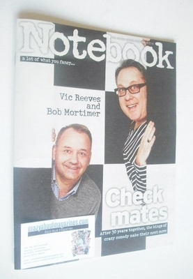 <!--2014-01-19-->Notebook magazine - Vic Reeves and Bob Mortimer cover (19