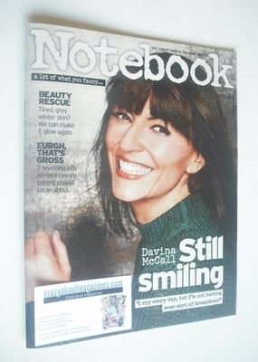 <!--2014-01-26-->Notebook magazine - Davina McCall cover (26 January 2014)