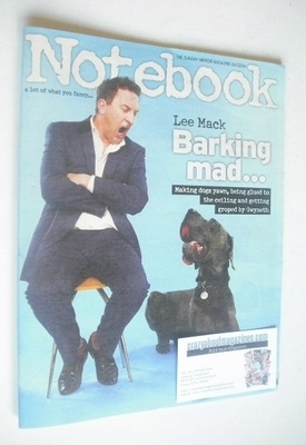 <!--2014-02-02-->Notebook magazine - Lee Mack cover (2 February 2014)