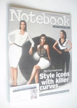 Notebook magazine - The Kardashians cover (9 February 2014)