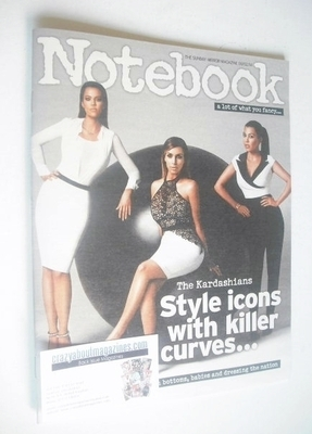 <!--2014-02-09-->Notebook magazine - The Kardashians cover (9 February 2014