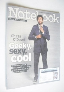 Notebook magazine - Chris O'Dowd cover (16 February 2014)
