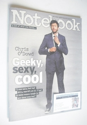 <!--2014-02-16-->Notebook magazine - Chris O'Dowd cover (16 February 2014)